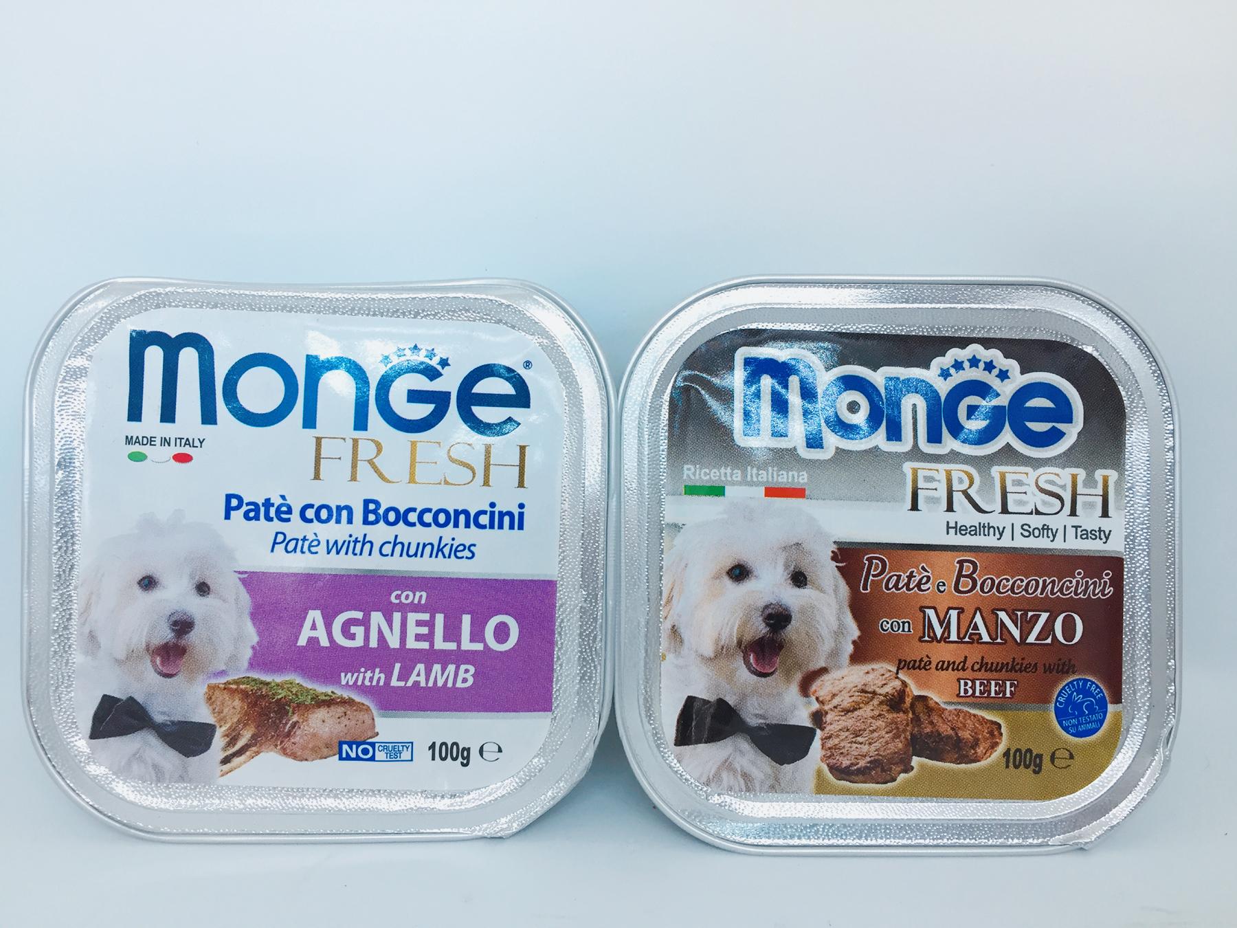 Pate cho chó Monge Pet Nha Trang