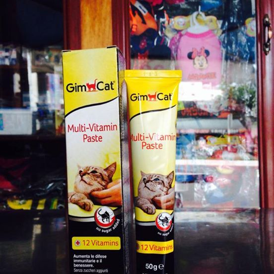 Gel dinh dưỡng bổ sung vitamin Gim Cat Multi-Vitamin Paste