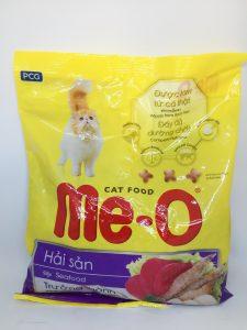 Thức ăn cho mèo Me-O vị hải sản