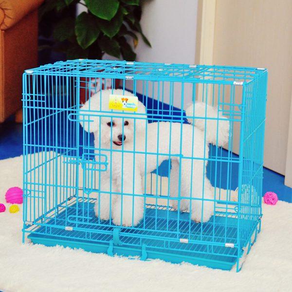 Chuồng lồng sắt tĩnh điện cho chó mèo Pet Nha Trang