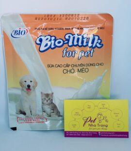 Sữa bổ sung dinh dưỡng cho chó mèo Bio-milk Pet Nha Trang