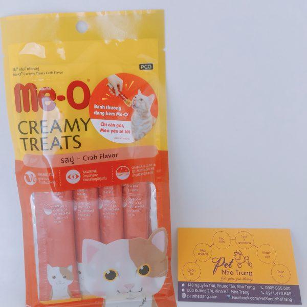 Bánh thưởng dành cho mèo Me-O Creamy Treats