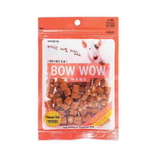 Phô mai cuộn thịt gà Bowwow Pet Nha Trang