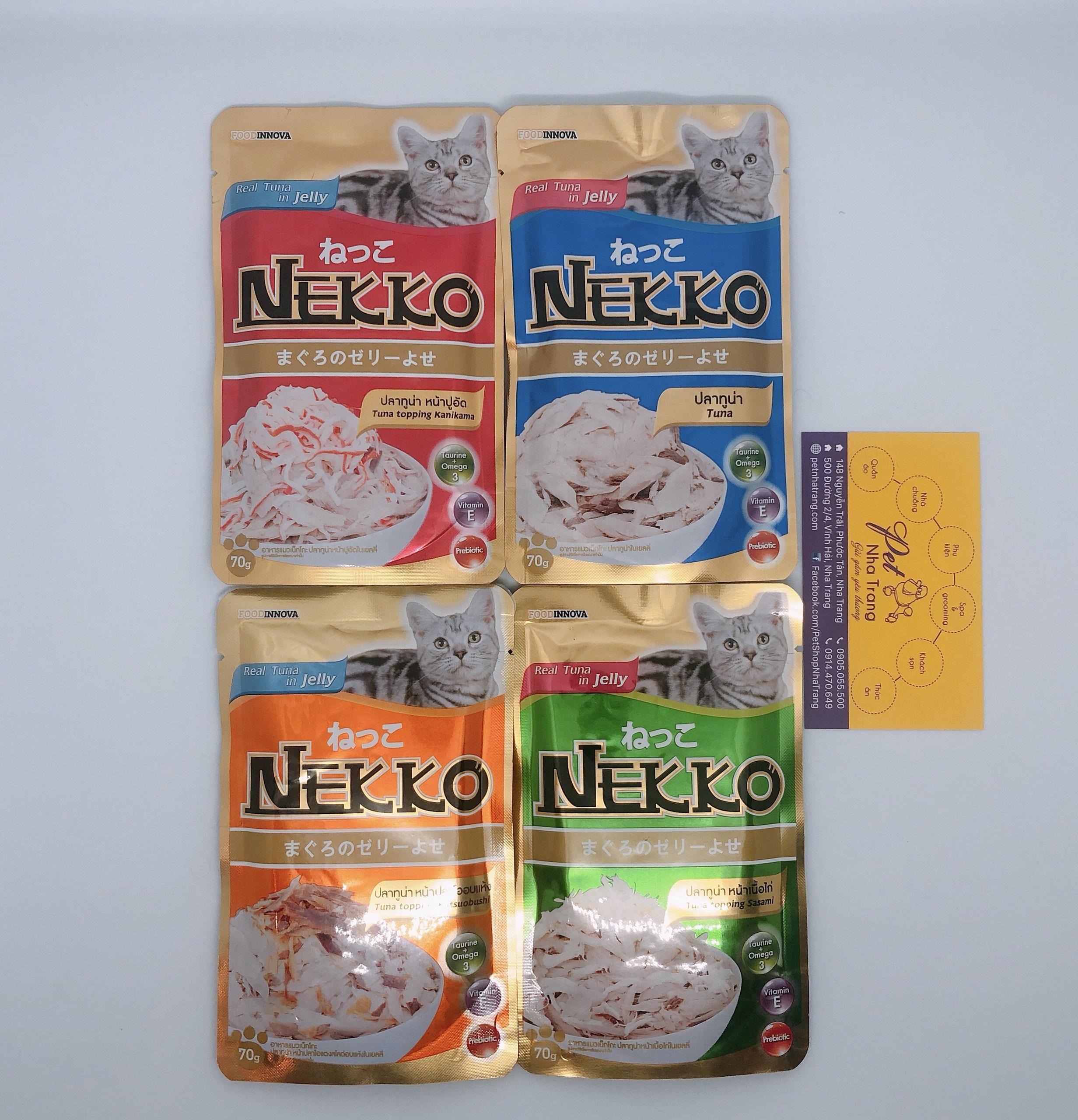 Pate cho mèo Nekko Pet Nha Trang