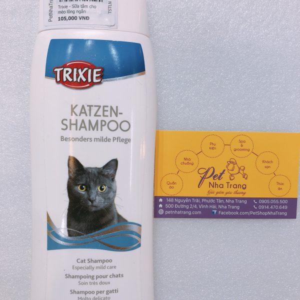 Sữa tắm Trixie cho mèo lông ngắn 250ml