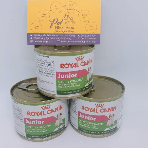 Pate cho chó Royal canin Junior Pet Nha Trang