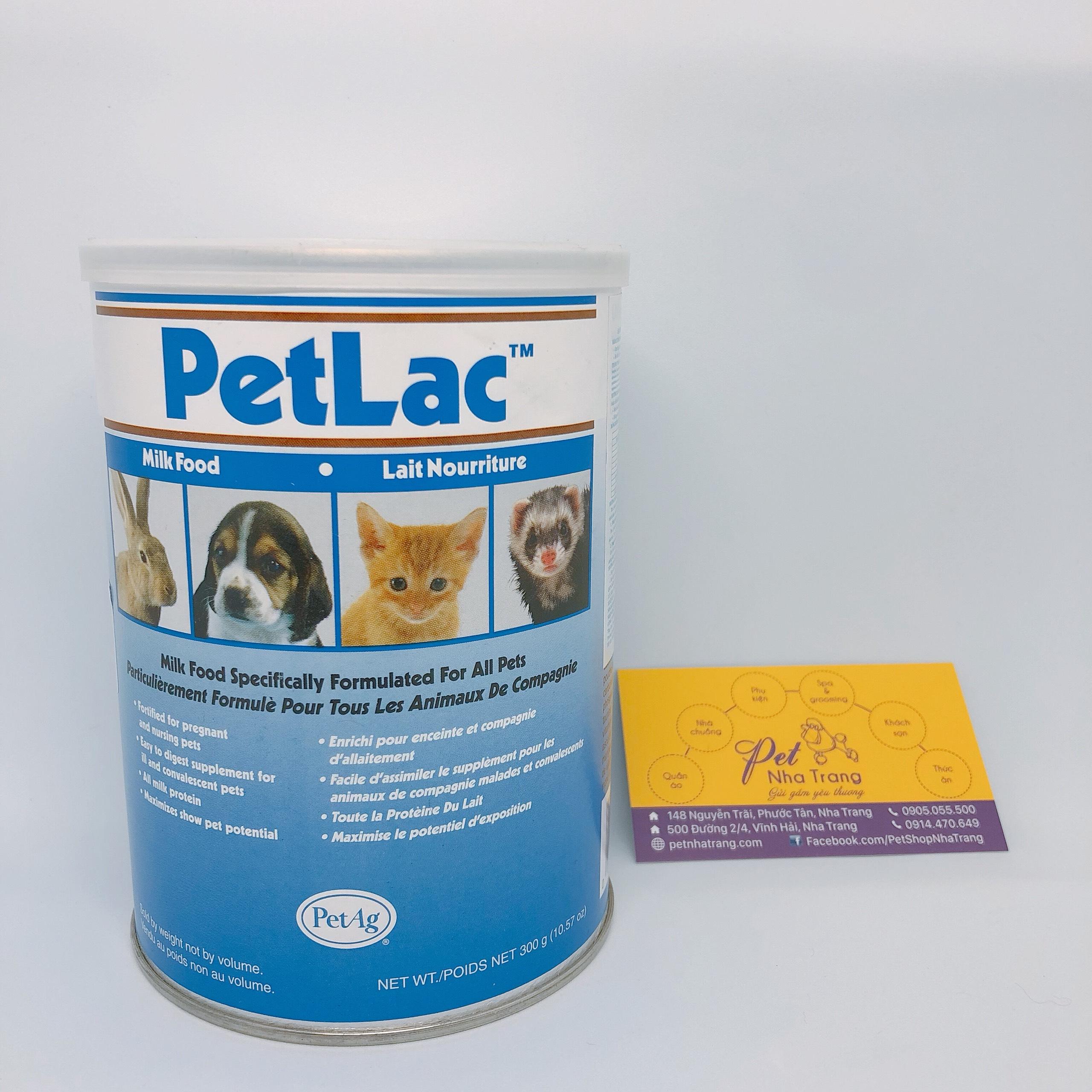 Sữa bột PetLac cho chó mèo Pet Nha Trang