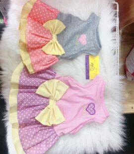 Váy thun nơ cho chó, mèo Pet Nha Trang