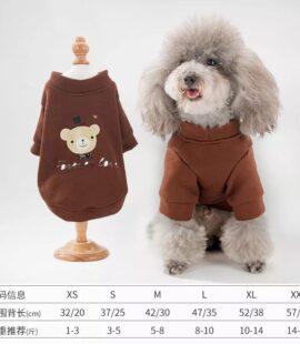 Áo nỉ gấu cho chó, mèo Pet Nha Trang