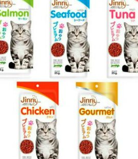 Bánh Thưởng Jinni Cho Mèo Pet Nha Trang