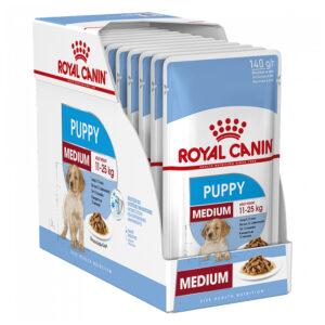 Pate cho chó Royal Canin medium puppy pet nha trang