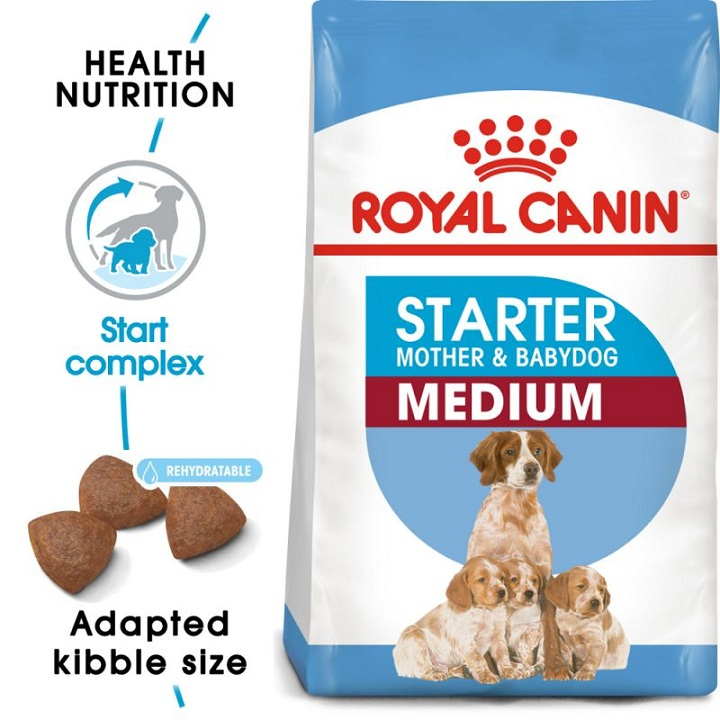 Royal Canin Medium Starter Mother BabyDog 4kg 1
