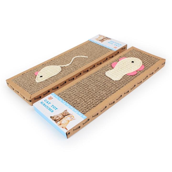 Thảm cào giấy cho mèo Size M 7