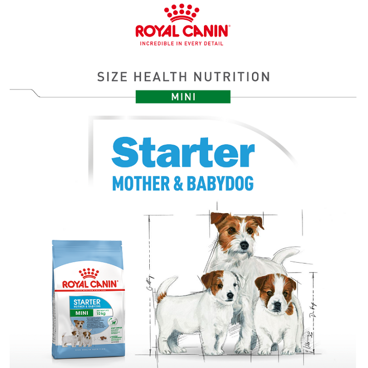 Royal Canin Mini Starter Mother BabyDog 3kg 4