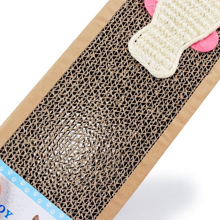 Thảm cào giấy cho mèo Size M 4